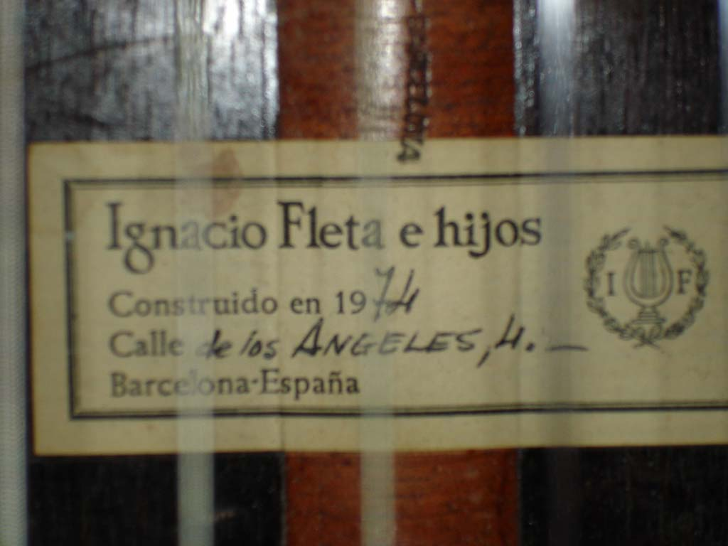 Ignacio Fleta Label