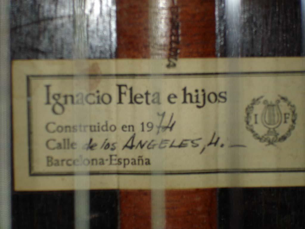 Ignacio Fleta Label